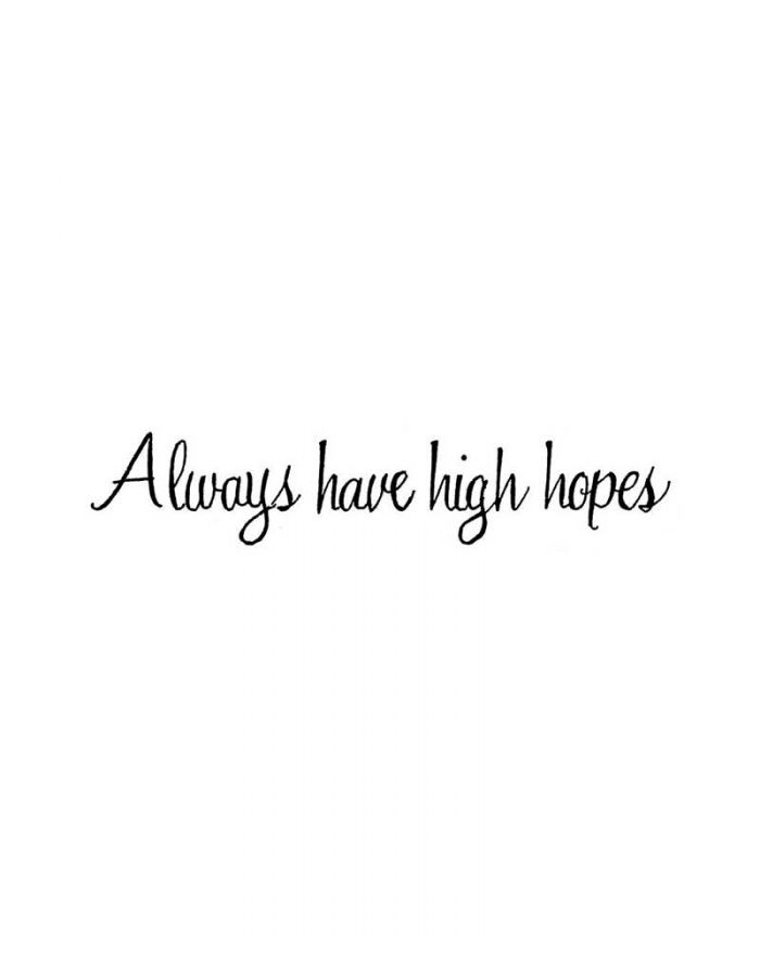 Always Have High Hopes - DD10042
