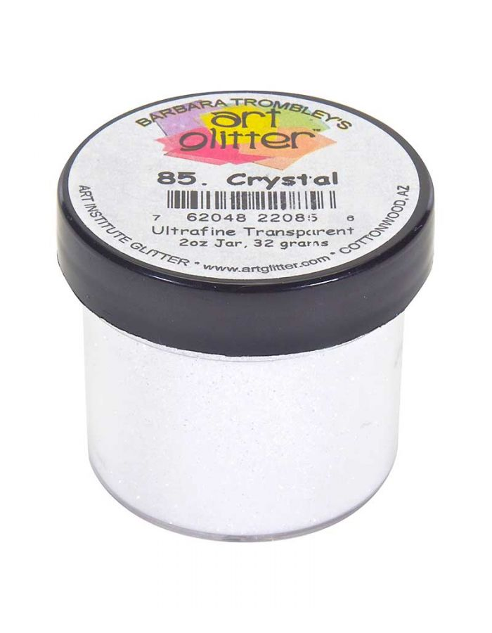 Art Glitter: Crystal Ultrafine Transparent Glitter