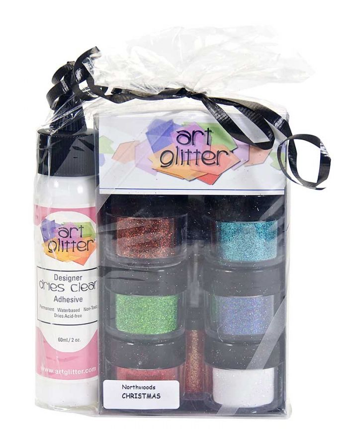 Art Glitter Set, Christmas - AG010
