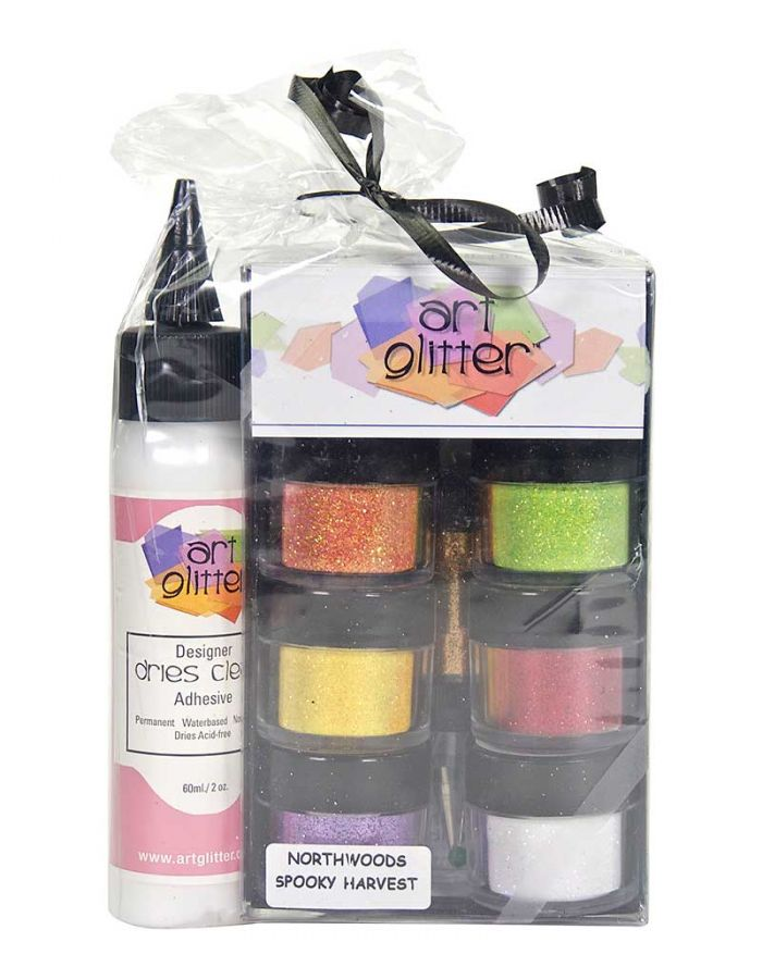 Art Glitter Set, Spooky Harvest - AG009