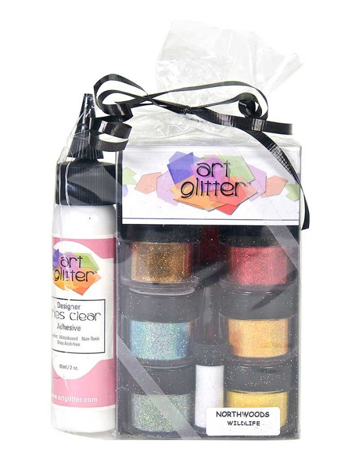 Art Glitter Set, Wildlife - AG003