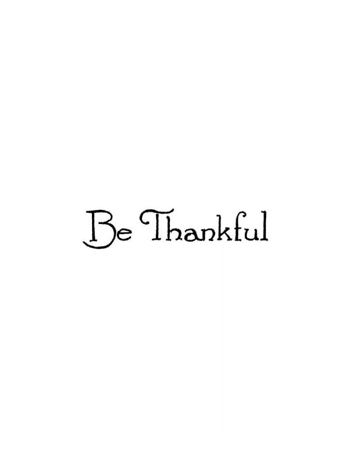 Be Thankful - BB10666