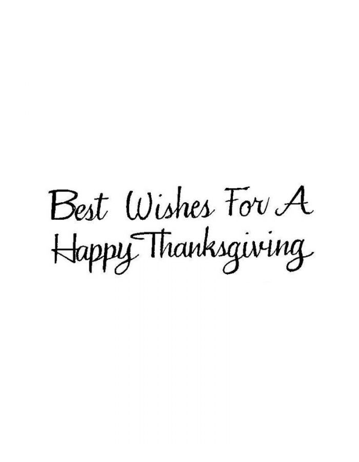 Best Wishes For a Happy Thanksgiving - D10106