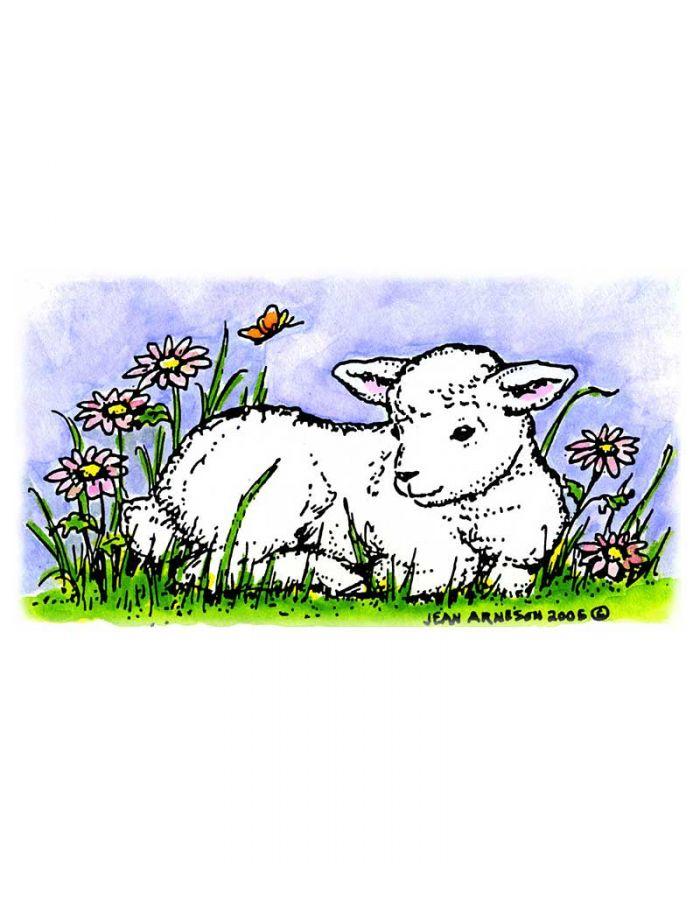 Catherine's Baby Lamb - J1396