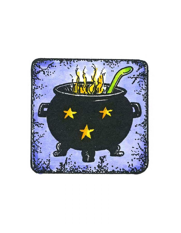 Cauldron in Square - C10644