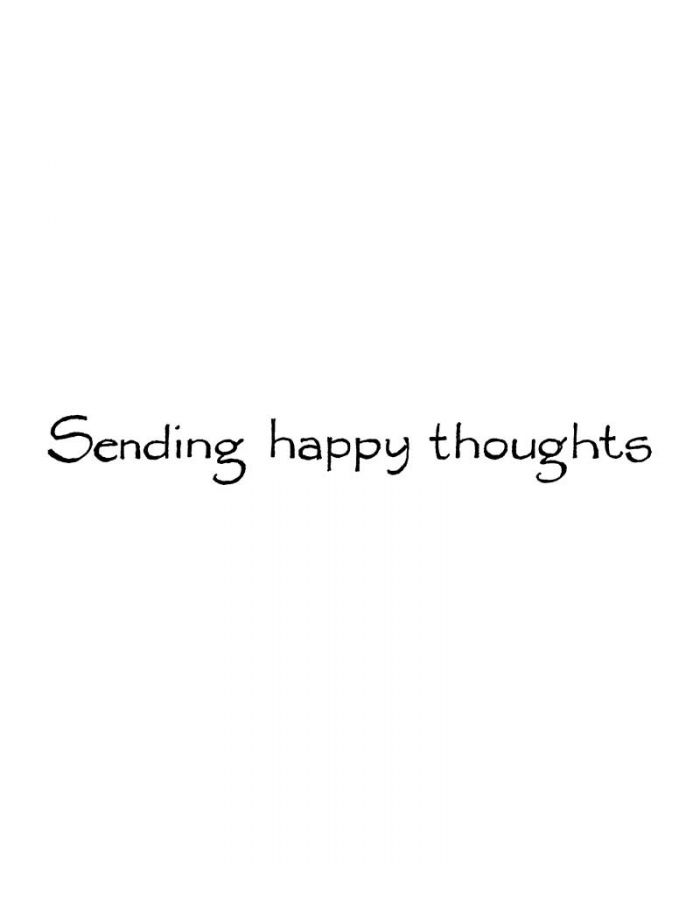 Sending Happy Thoughts - H8038