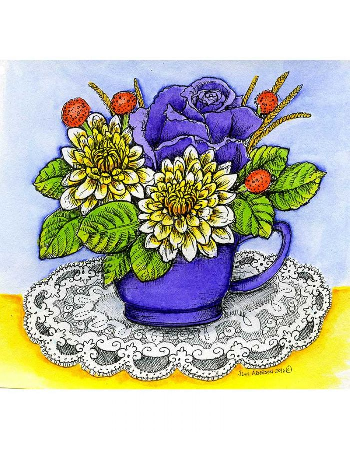 Cup of Flowers - PP10008
