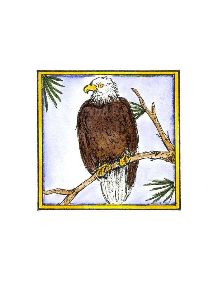 Eagle in Square - CC8540