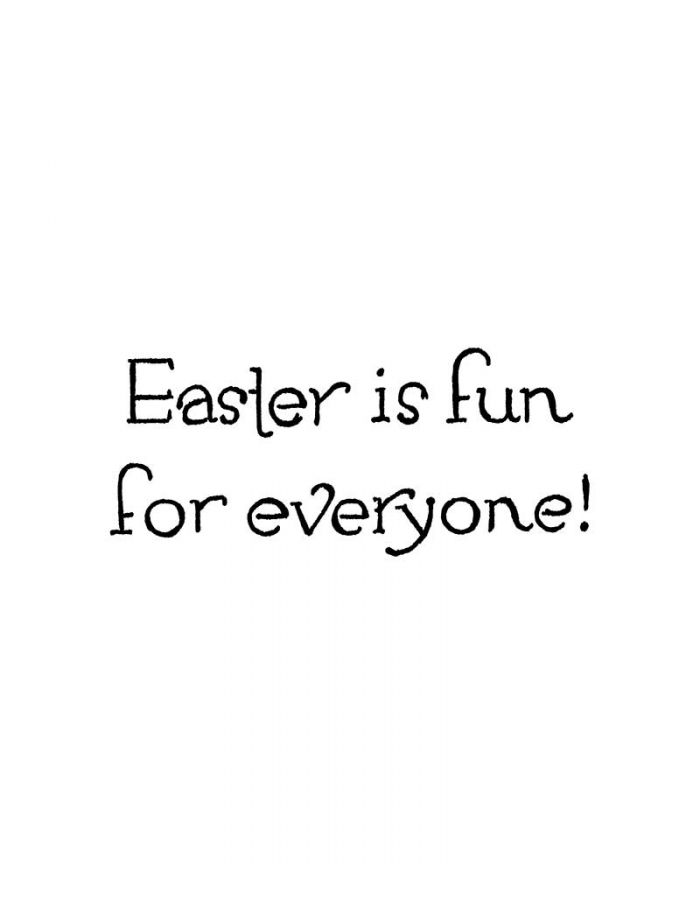 Easter Is Fun For Everyone - CC10757