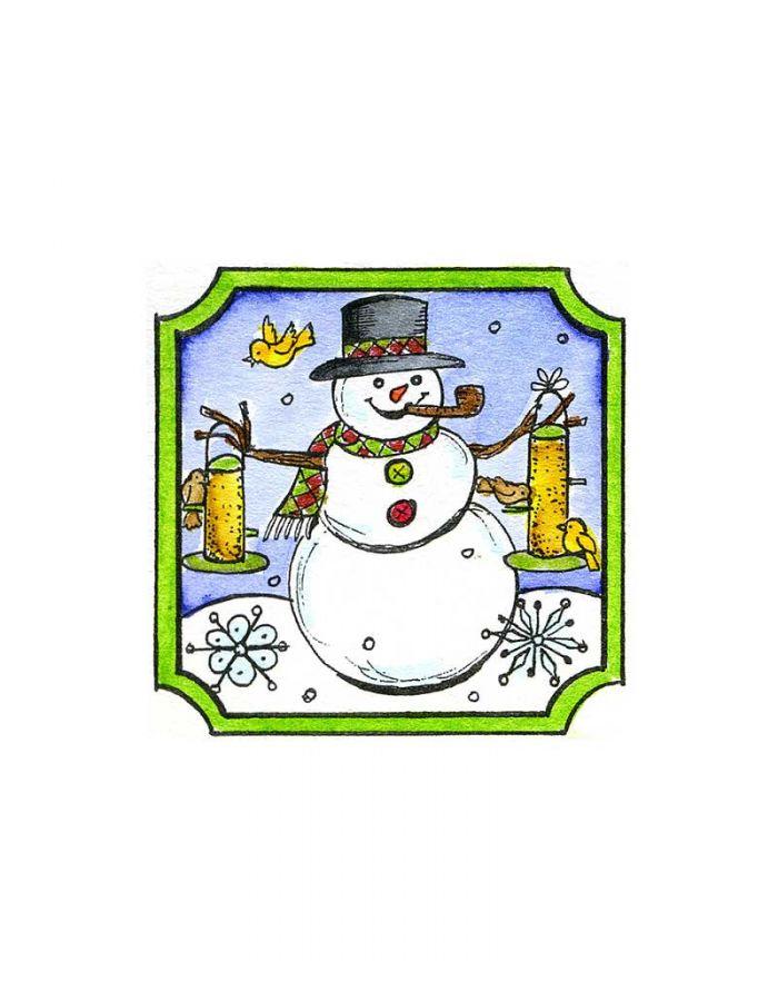Feeder Snowman - C10120