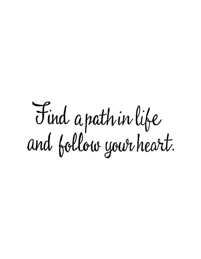 Find A Path In Life - D10623