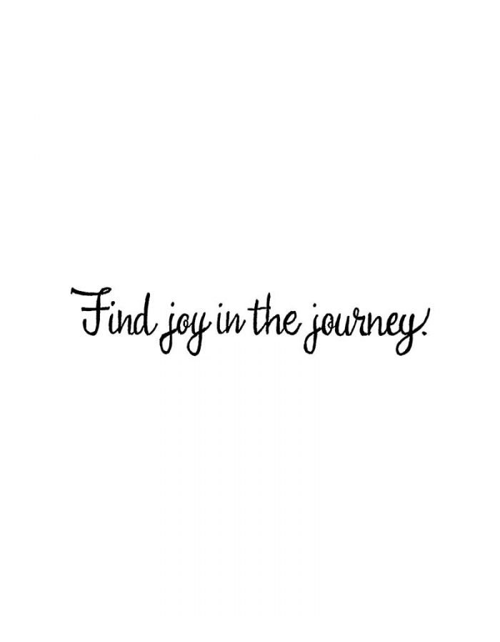 Find Joy In The Journey - DD10608