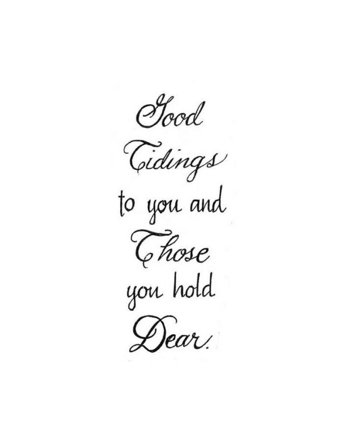 Good Tidings - D10155