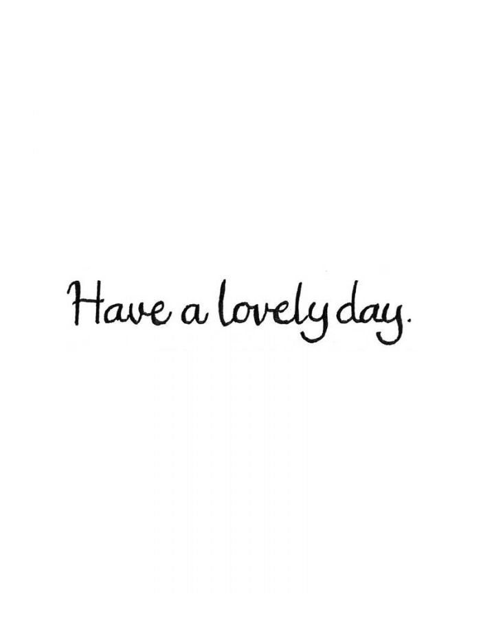Have a Lovely Day - DD10017