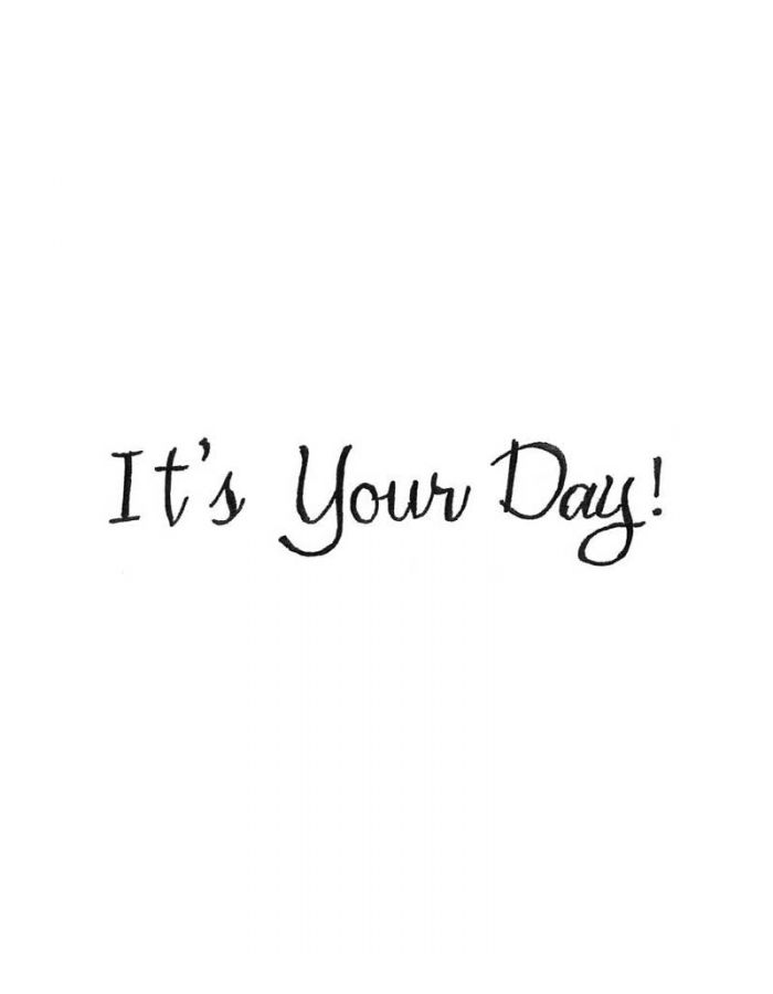 It's Your Day - DD9998