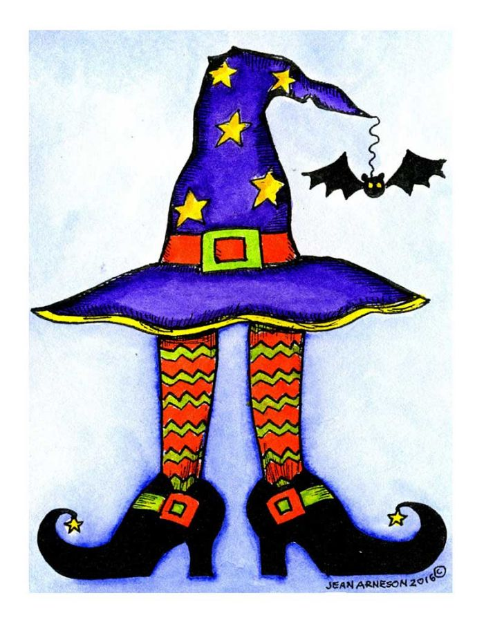 Lania's Witch Hat and Legs - M10054