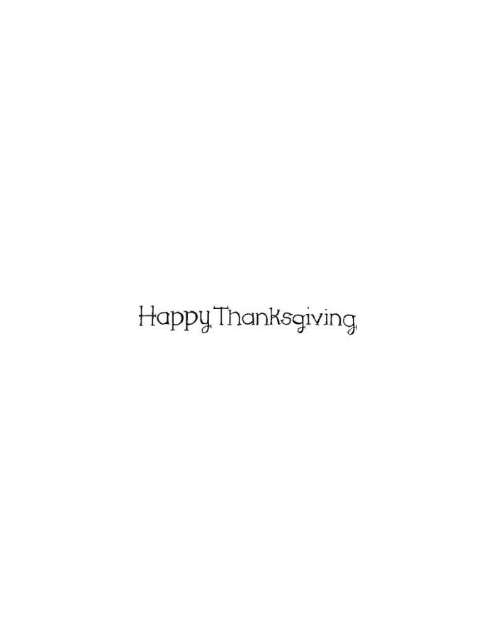 Happy Thanksgiving - DD10314