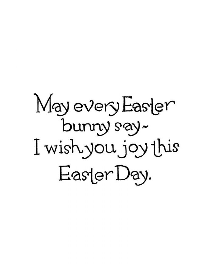 May Every Easter Bunny Say - CC10760