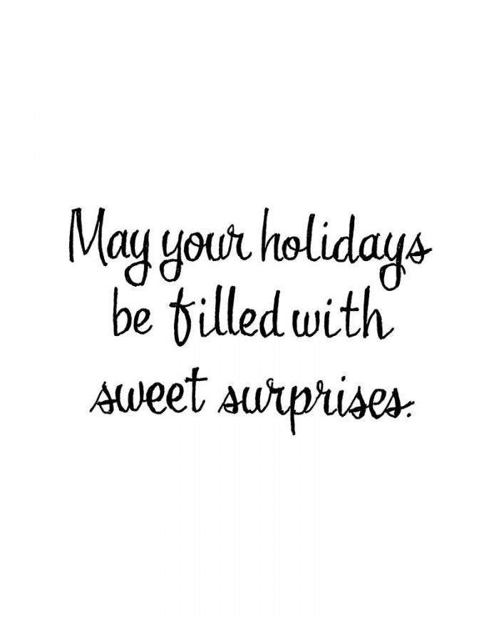 May Your Holidays Be Filled With Sweet - D10848