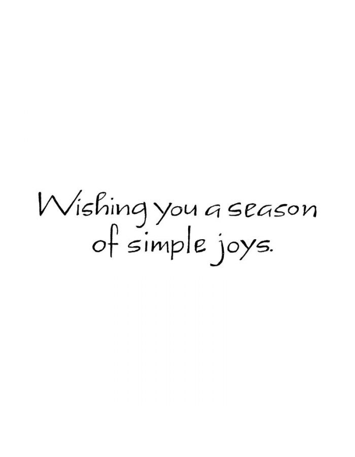 Wishing You a Season - D8312