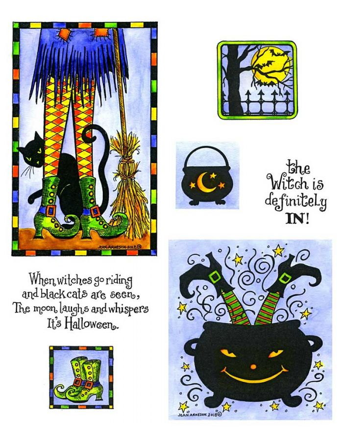 Witch's Legs - NO-019