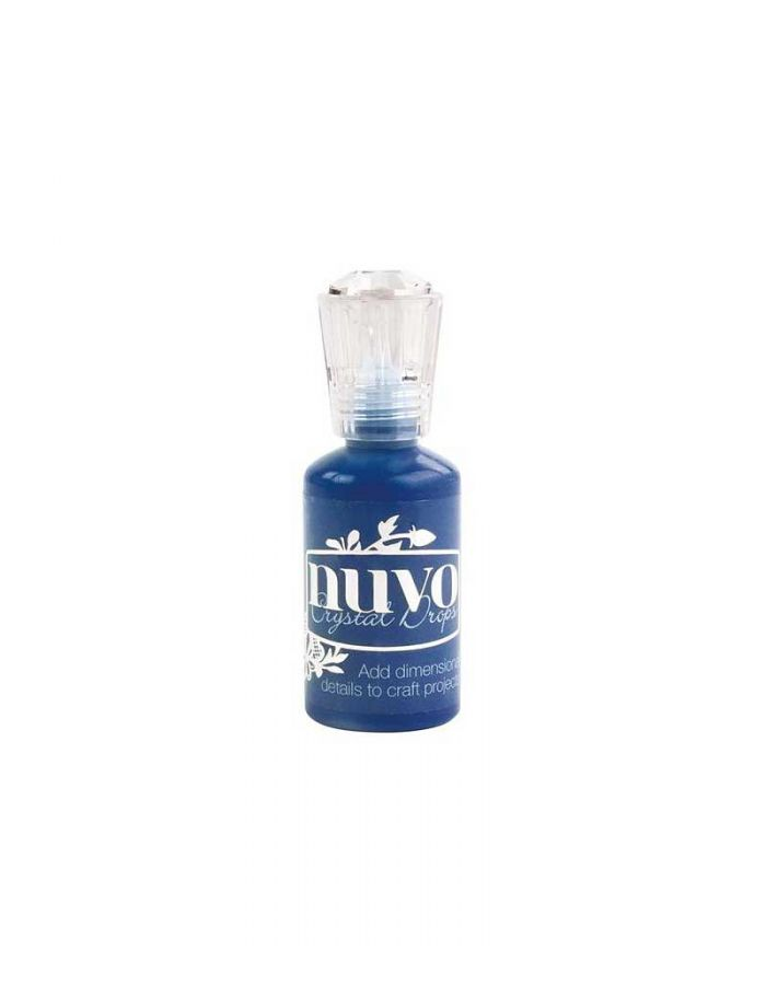 Nuvo Crystal Drops: Midnight Blue, Gloss - 664N