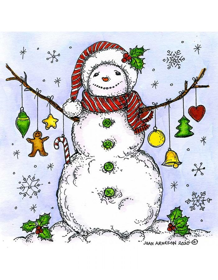 Ornament Snowman - PP10841