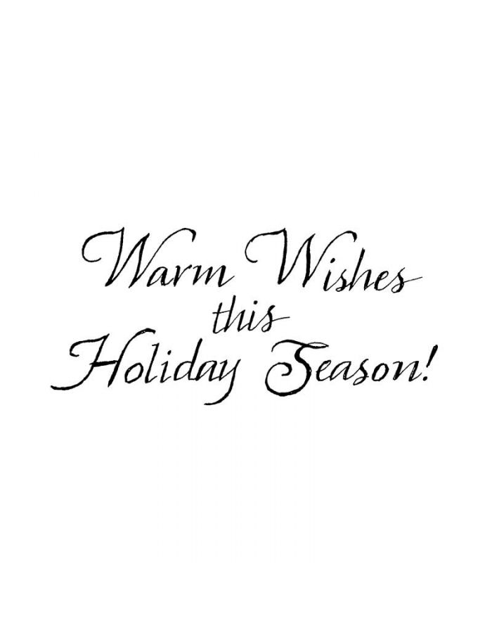 Warm Wishes This Holiday - D8314