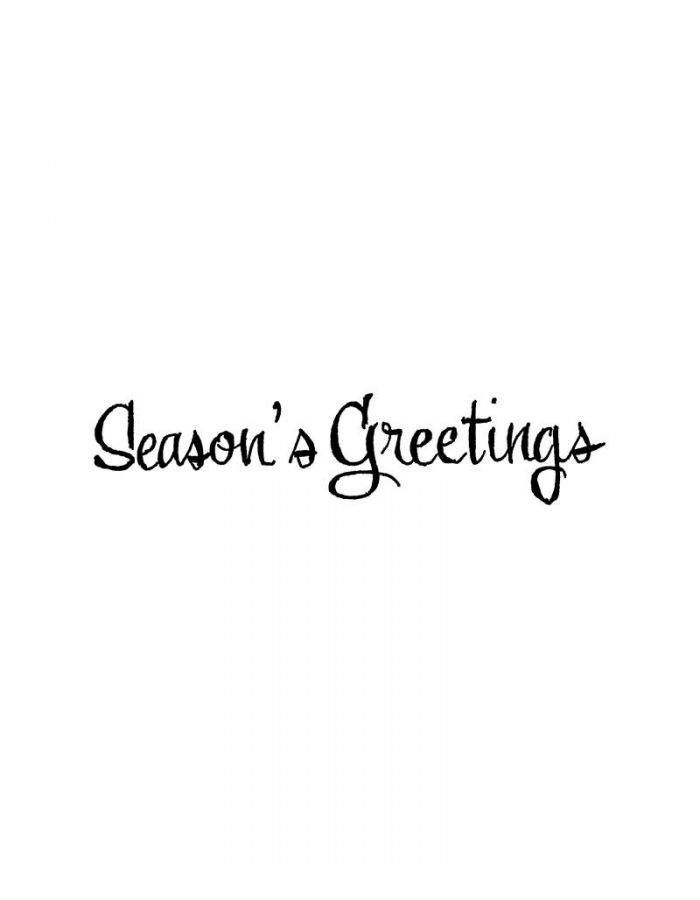 Season's Greetings - DD10856