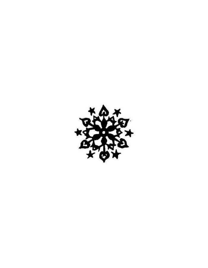 Solid Snowflake - AA10380