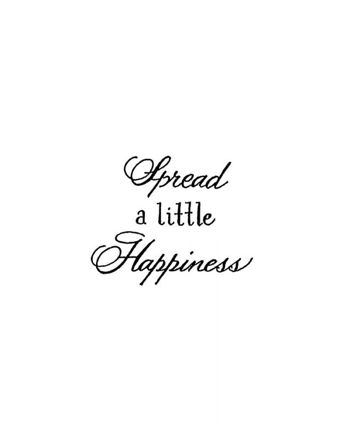 Spread A Little Happiness - B10603