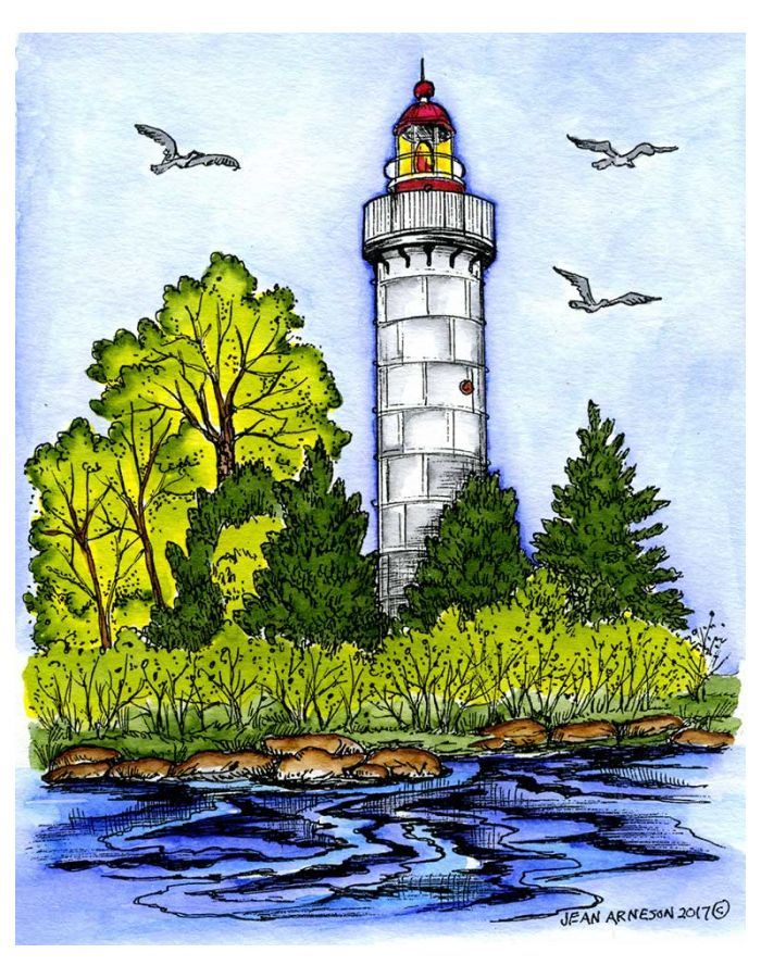 Spring Lighthouse - P10256