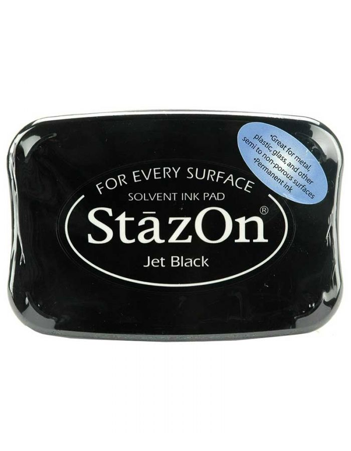 StazOn Stamp Pad, Jet Black - SZ31