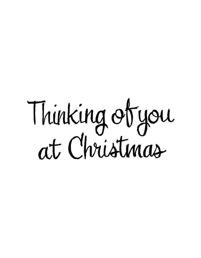 Thinking Of You At Christmas - D10852