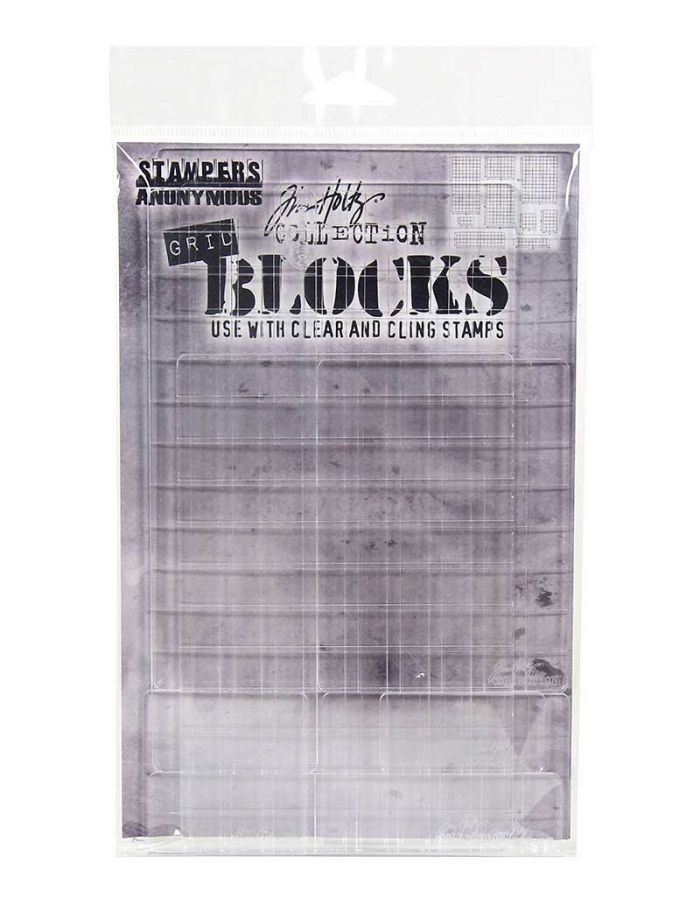 Tim Holtz Grid Blocks - THGBXL