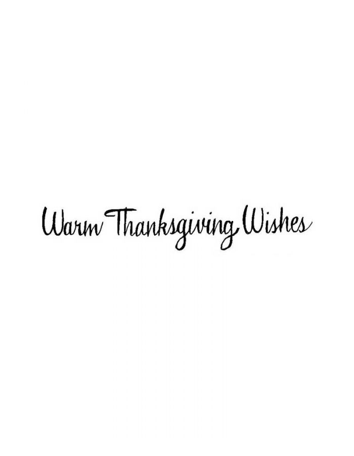Warm Thanksgiving Wishes - DD10104