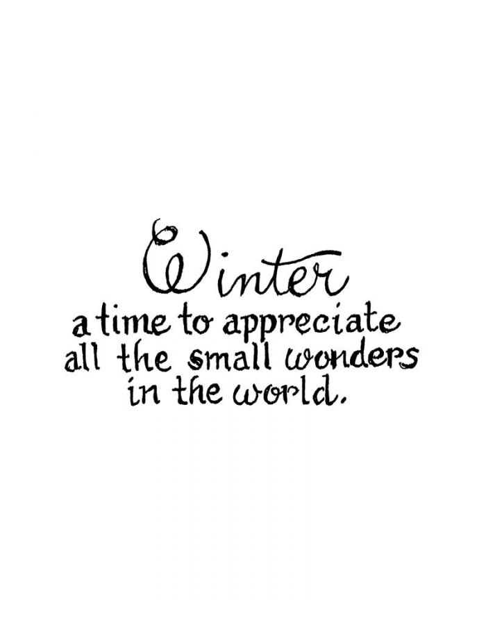 Winter A Time To Appreciate - D10872