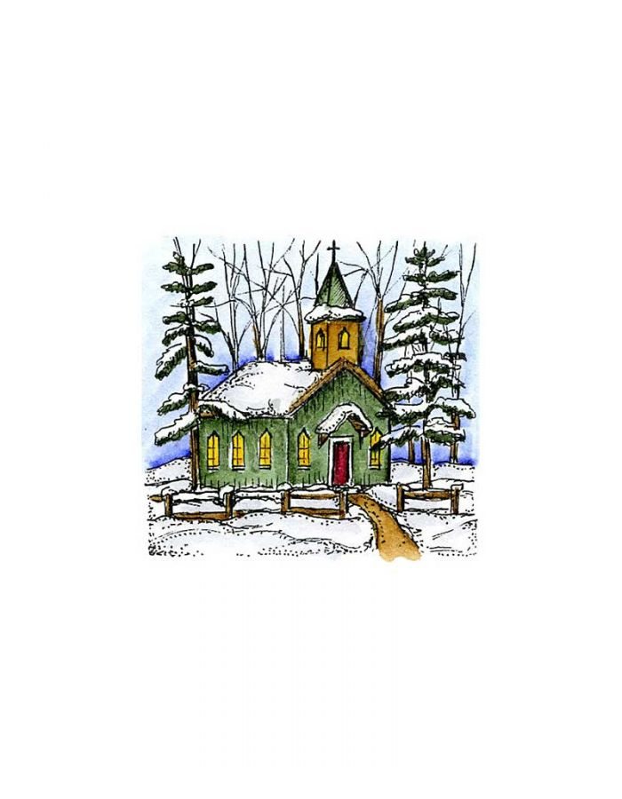 Winter Church - C10141