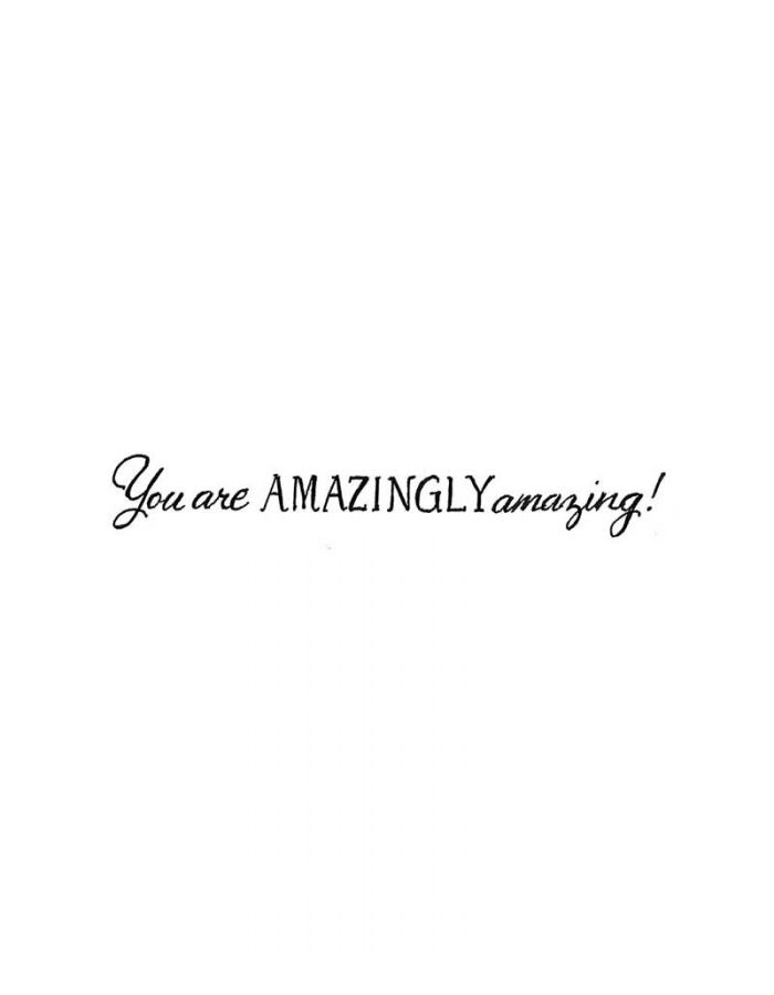 You Are Amazingly - DD10016