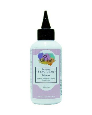 Designer Dries Clear Adhesive, 4oz - DDCA4OZ