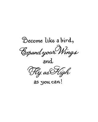 Become Like A Bird - CC10602