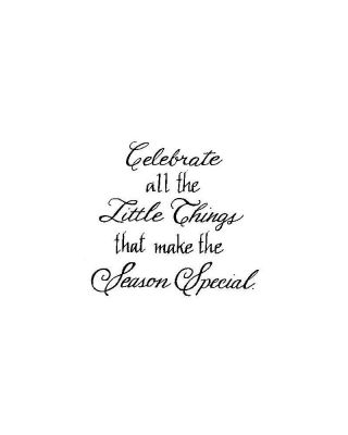 Celebrate All The Little Things - B10173