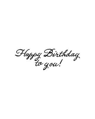 Happy Birthday To You - BB10763