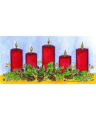 Holiday Candles - O10113