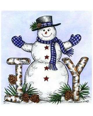 Joy Snowman - PP10689