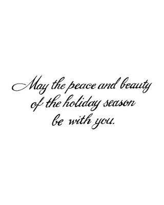 May The Peace And Beauty - D9368