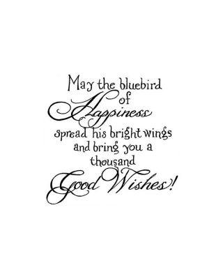 May The Bluebird - CC10204