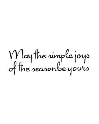 May The Simple Joys - D10538