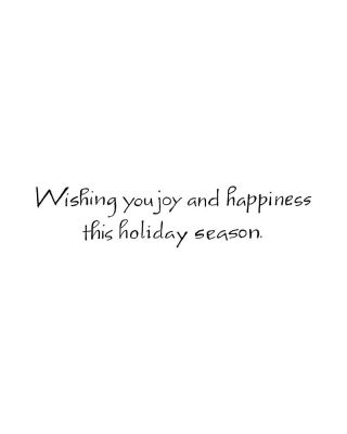 Wishing You Joy - D8275