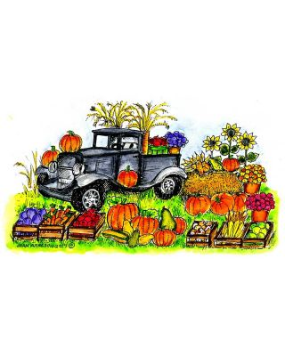 Old Fashioned Truck and Fall Harvest - NN10303